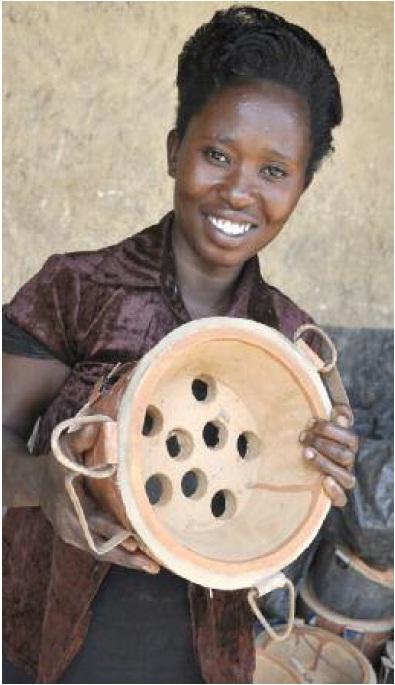 Annet, a member of BRAC's adolescent girls program in Uganda